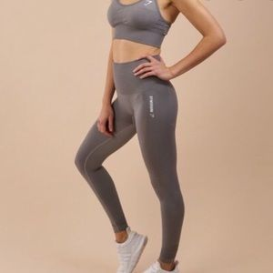 Grey Gymshark Seamless leggings